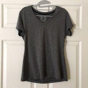 Tops - Grey Champion workout t-shirt Size: L